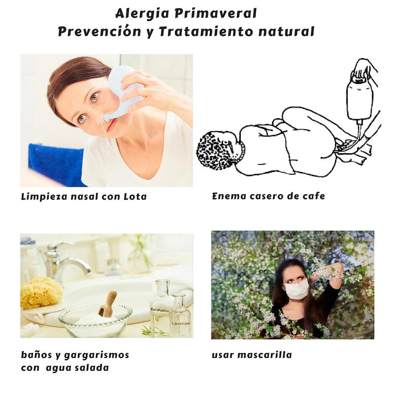 alergia primaveral tratamiento